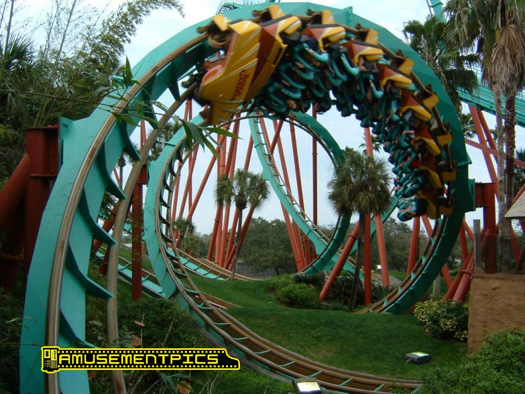 The Congo At Busch Gardens Tampa Bay Florida