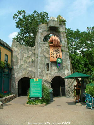 Busch Gardens Williamsburg Past Attractions