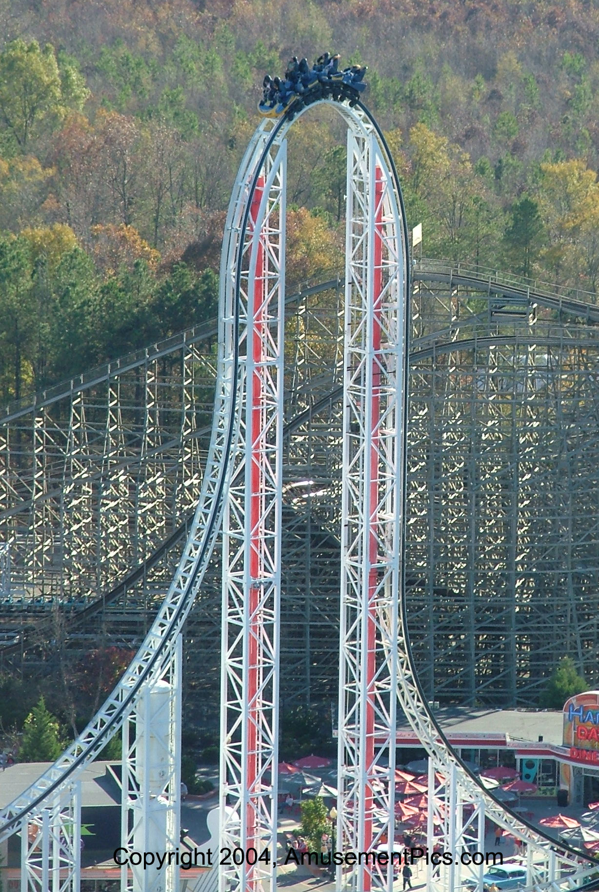 Kings Dominion Past Attractions